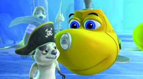 Олли и сокровища пиратов (Dive Olly Dive and the Pirate Treasure, 2014) трейлер фильма на русском
