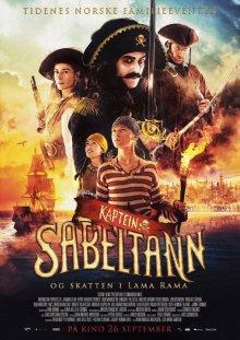 Капитан Саблезуб и сокровища Лама Рама / Kaptein Sabeltann og skatten i Lama Rama (2014)